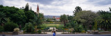 Garden in Front of a Church, Christuskirche, Tintenpalast, Windhoek, Khomas Region, Namibia Vinilo decorativo por Panoramic Images,