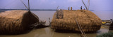 Huts at the Riverside, Hooghly River, Kolkata, West Bengal, India Wall Decal by  Panoramic Images