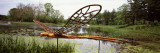 Sculpture of a Dragonfly in an Arboretum, Morton Arboretum, Lisle, Dupage County, Illinois, USA Wall Decal by Panoramic Images