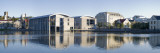 Buildings at the Waterfront, Reykjavik's City Hall, Reykjavik, Iceland Wall Decal by  Panoramic Images