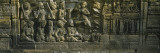 Statue Carved on the Wall of a Temple, Borobudur Temple, Java, Indonesia Wall Decal by  Panoramic Images