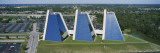 High Angle View of Three Buildings in a Row, the Pyramids, Indianapolis, Indiana, USA Wall Decal by  Panoramic Images