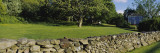 Fieldstone Wall on a Lawn, Portsmouth, Newport County, Rhode Island, USA Wall Decal by  Panoramic Images