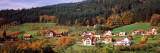 View of Houses on a Landscape, Baden-Wurttemberg, Germany Wall Decal by  Panoramic Images