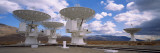 View of Radio Telescopes, Californian Sierra Nevada, California, USA Wall Decal by  Panoramic Images