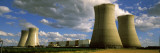 Smoke Emerging from Cooling Towers of Nuclear Power Station, Loire Valley, France Wall Decal by Panoramic Images