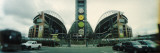 Facade of a Stadium, Qwest Field, Seattle, Washington State, USA Veggoverføringsbilde av Panoramic Images,