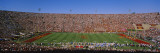 High Angle View of a Football Stadium Full of Spectators, Los Angeles Memorial Coliseum Wall Decal by  Panoramic Images