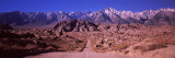 Road Passing Through a Landscape, Mt Whitney, Alabama Hills, Inyo County, California, USA Wall Decal by  Panoramic Images