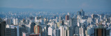 View of a City, Sao Paulo, Brazil Wall Decal by  Panoramic Images