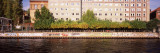 Buildings at the Waterfront, Spree River, Berlin, Germany Wall Decal by  Panoramic Images