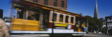 Cable Car Moving on a Street, San Francisco, California, USA Wall Decal by  Panoramic Images
