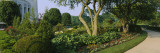Plants in a Garden, Bahai Temple Gardens, Bahai House of Worship, Wilmette, New Trier Township Wall Decal by  Panoramic Images