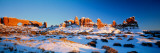 Rock Formations on a Landscape, Arches National Park, Utah, USA Wall Decal by  Panoramic Images