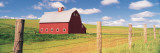 Barn in a Field Wall Decal by  Panoramic Images
