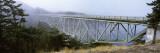 Bridge across the River, Deception Pass Bridge, Deception Pass, Whidbey Island and Fidalgo Island,  Wall Decal by  Panoramic Images