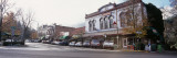 Cars Parked in Front of a Restaurant, Ashland, Oregon, USA Wall Decal by  Panoramic Images