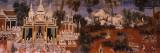 Ramayana Murals in a Palace, Royal Palace, Phnom Penh, Cambodia Wall Decal by  Panoramic Images