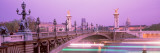 Bridge over a River, Seine River, Paris, France Wall Decal by  Panoramic Images