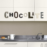 Chocolate (Water Resistant Decal) Wall Decal