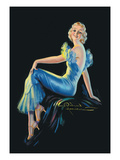 Kristen Wall Decal by H. Wilson Hammell