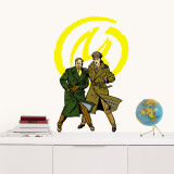 Blake &amp; Mortimer Wall Decal