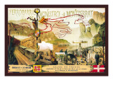 Ferrocaril de Monistrol a Montserrat Wall Decal by J. Ottmann
