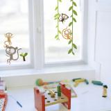 Singes Sticker pour fenêtres
