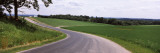 Road Passing Through a Landscape, Country Road, Crawford County, Wisconsin, USA Wall Decal by  Panoramic Images