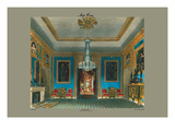 Ante Room, Carlton House Wall Decal by C. Wild