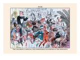 Puck Magazine: The Children&#39;s Carnival Wall Decal by F. Graetz