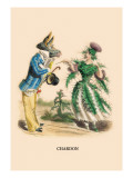 Chardon Wall Decal by J.J. Grandville