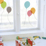 Balloons  (Window Decal) Autocollant mural