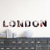 Londyn Kalkomania ścienna