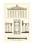 The Parthenon at Athens Wall Decal by J. Buhlmann
