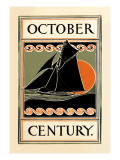 October Century Wall Decal by H.m. Lawrence