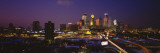 Skyscrapers Lit Up at Dusk, Minneapolis, Minnesota, USA Wall Decal by  Panoramic Images