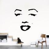 Marilyn Kalkomania ścienna