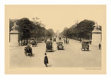 Avenue of the Champs-Elysees Wall Decal by Helio E. Ledeley