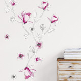 Magnolia Autocollant mural