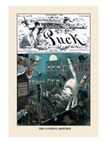 Puck Magazine: The Citizens Aroused Wall Decal by F. Graetz