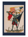 Vive la France! Wall Decal by F.a. Crepaux