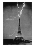 Thunder and Lightning Wall Decal by M.g. Loppe