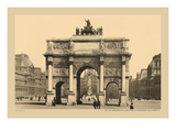 Carousal Triumphal Arch and Monument Gambetta Wall Decal by Helio E. Ledeley