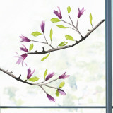 Magnolia  (Window Decal) Wall Decal