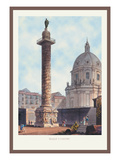 Trajan's Column Wall Decal by M. Dubourg