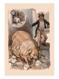 Pension Pig Wall Decal by J. Ottmann