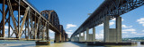 Benicia - Martinez Bridge Crossing the Carquinez Strait, Bay Area, California Wall Decal by  Panoramic Images