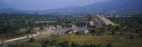 Pyramid on a Landscape, Moon Pyramid, Teotihuacan, Mexico City, Mexico Wall Decal by  Panoramic Images