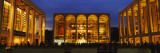Entertainment Building Lit Up at Night, Lincoln Center, Manhattan, New York City Wall Decal by  Panoramic Images